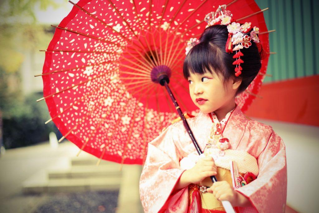 赤坂日枝神社 7歳・3歳七五三出張撮影
